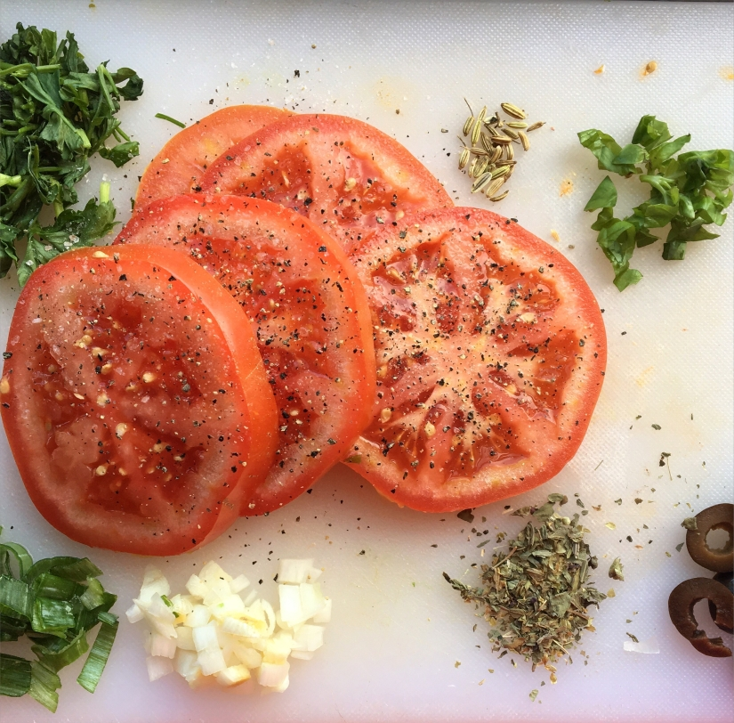 Tomato Slices Photo