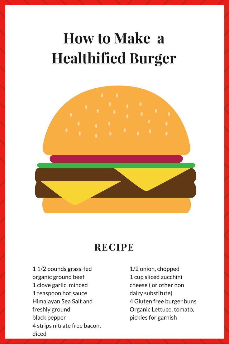 How to Make a Healthified Burger