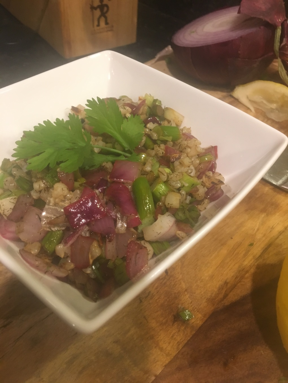 Tasty Bulgar Salad